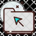 Folder Cursor Icon