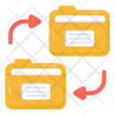 Folder Exchange Folder Data Transfer Data Transfer Icon