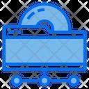 Data Storage Technology Icon