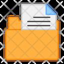 Folder Document File Folder Document Case Icon