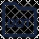 Folder Dot Icon