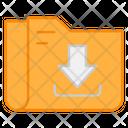 Folder Download File Download Document Download Icon