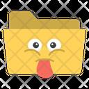 Folder Emoticon Icon