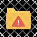 Exclamation Folder Error Icon
