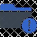 Error Alert Archive Icon