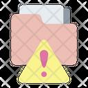 Folder Error Notification Alert Icon