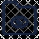 Folder Eye Icon