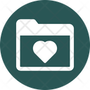 Bookmarks Favorite Heart Icon