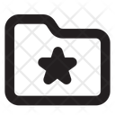 Folder Favourite In Lc File Document Icon