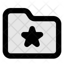 Folder Favourite In Lc Icon