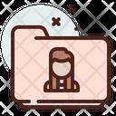 Folder Female Icon