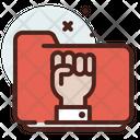 Folder Fist Icon