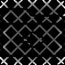 Folder Forward Icon