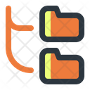Folder Hiearchy Hierarchy Structure Icon