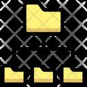 Folder Distribution Folders Folder Arrangements Icon