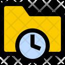 Folder History Time Icon