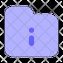 Folder Information Info Information Icon