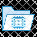 Circuit Folder Micro Icon