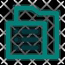 Folder List Icon
