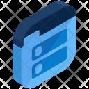 Folder Listing List Icon