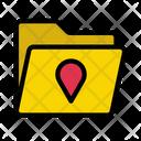 Folder Directory Map Icon