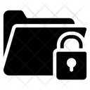 Folder Lock Folder Security File Passcode Icon
