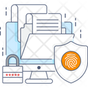 Folder Security Folder Lock Secure Document Icon