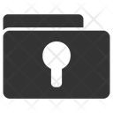 Folder Lock Secure Icon