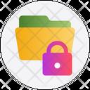 Folder Documents Password Icon