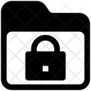 Folder Locked Safety Icon