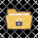 Folder Lock Lock Password Icon
