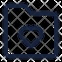 Folder Love File Icon