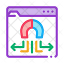 Folder Magnetic Pull Icon