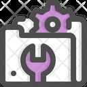 Folder Maintenance Tech Service Icon
