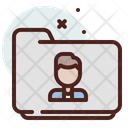 Folder Male Icon