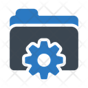 Folder Files Setting Icon