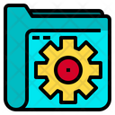 Gear Data Technology Icon