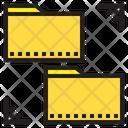 Folder Management File Management Network Icon