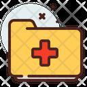Folder Medical Icon