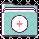 Folder Medicine Care Icon
