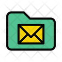 Folder Directory Message Icon