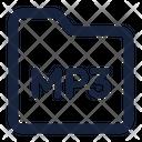Folder Mp 3 Icon