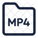 Folder Mp 4 Icon