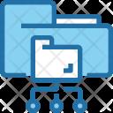 Cloud Storage Folder Icon