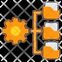 Data Folder Management Icon
