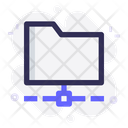 Folder Network Sharing Folder Icon