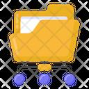 Data Network Folder Network Files Network Icon