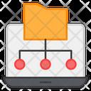 Folder Network Folder Connections Folder Sharing Icon