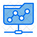 Folder Network Link Share Document Icon
