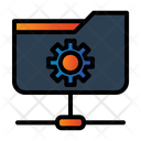 Folder Network Setting Share Document Icon
